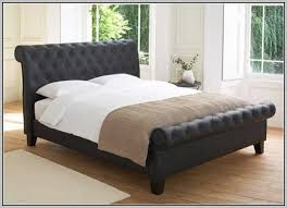 popular of super king sleigh bed with leather sleigh bed super king size bedding home decorating