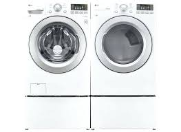 Brand New Lg He Front Load Direct Drive Washer Gas Dryer Repair 1
