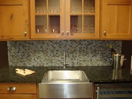 No Backsplash In Kitchen Kitchen Herringbone Marble Backsplash Installation A Home In I