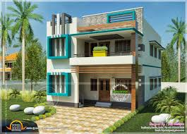 South Indian contemporary home   Kerala home design and floor plansDesign style   Contemporary Simple contemporary home