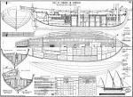 Схема корабля из дерева