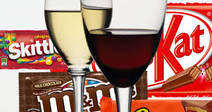 Your Essential Halloween Candy Wine Pairing Chart Kiss