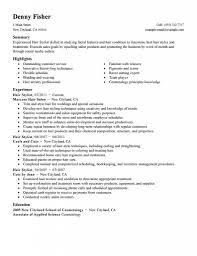 Resume Example 51 Hair Stylist Resumes Hair Stylist Resume