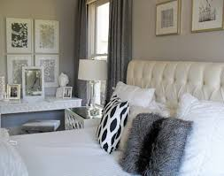 silver and white bedroom decor. Delighful And Image 24612 From Post Bedroom Ideas Silver And White U2013 With Black Grey  Also Gray In Decor
