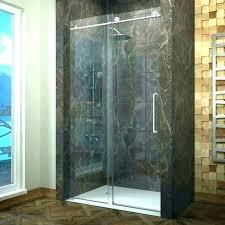 shower door leaks s glass at bottom frameless bathrooms