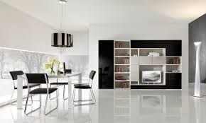 Modern Black Living Room Furniture Black And White Floor Tile Living Room House Decor