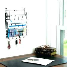 hanging office organizer. Hanging Wall Organizer Office Acrylic Desk Mount File Folder Pocket