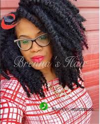 Afro Braid Hair Style 30 strandspiece silk afro twist crochet braid hair extensions 3693 by wearticles.com
