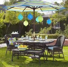 pretty outdoor dining table with umbrella 20 patio decor