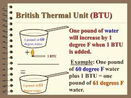 British Thermal Unit Btu Chart Natural Gas Propane Butane Ppt Download