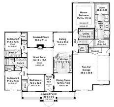 floor plan first story of acadian plan 141 1082