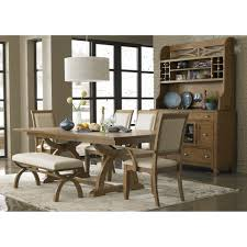 Traditional Dining Room Table Lacquered 6 Piece Dining Set Traditional Dining Set With Bench