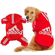 Scheppend Adidog Big Dog Large Clothes Big Dogs Pet