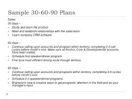 30 60 90 Day Plan For Lifelong Learning