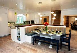 Image of: Kitchen Benches with Backs Dining Sets