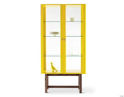 home design ikea stockholm cabinet glass door display can t wait for elegant yellow tv stand