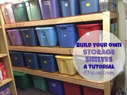 mylove2create storage shelves