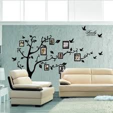 rainbow fox wall decor sweet memories photo frame wall decal family tree photo gallery wall