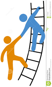 people helping join up ladder by michael brown via dreamstime people helping join up ladder by michael brown via dreamstime inspiration brown ladder and michael brown