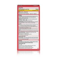 Infant Acetaminophen Dosage Chart 160mg 5ml Tylenol Infant Pain Reliever Fever Reducer With Simple Measure Syringe Grape Flavor