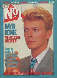 David Bowie No 1 September 1983 Uk Magazine