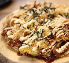 Stir in the eggs and mix until everything is evenly coated. Okonomiyaki Pizza Recipe Japan Centre