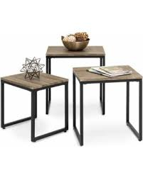 Nesting furniture Convenient Best Choice Products 3piece Modern Lightweight Stackable Nesting Coffee Accent End Table Living Room People New Deal Alert Best Choice Products 3piece Modern Lightweight
