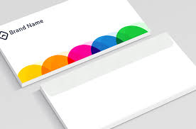 Color Cycles Envelope Design Printing Full Colors