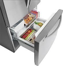 LG 23.6 Cu. Ft. French Door Refrigerator Silver LFC24770ST - Best Buy
