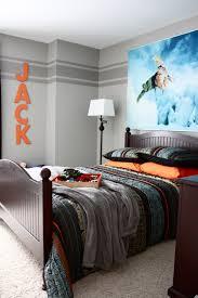 Orange And Grey Bedroom Boys Room Light Grey With A Darker Grey Stripe And Orange
