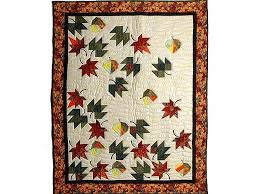 50 best leaf quilts images on Pinterest | Autumn leaves, Autumn ... & leaf quilt | Autumn Leaves Quilt -- great skillfully made Amish Quilts from  . Adamdwight.com
