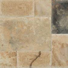 imperium pattern honed unfilled chipped travertine floor and wall tile 5 kits