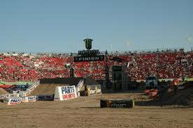 View Looking South From The Vip Seats Picture Of Sam Boyd