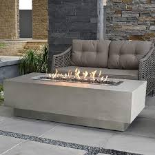 enhance your outdoor space with elementi granville fire table granville fire table is made of high performance cast concrete which is strong durable