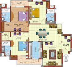 Modern 2 Bedroom Apartment Floor Plans Trendy Luxury 4 Bedroom Apartment Floor Plans 3 Condo Plan Duplex