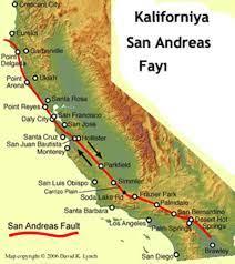 Kuzey Anadolu Fay Hattı ile Benzerlik Taşıyan, Dünyanın En Tehlikeli Fay  Hattı: San Andreas