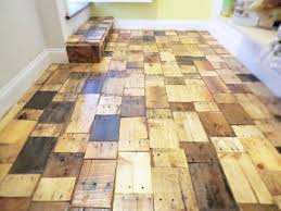 reclaimed wood flooring ideas  DIY Pallet Floor .