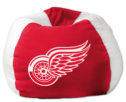 detroit red wings nhl bean bag chair by the northwest at