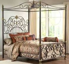 Iron Metal Bed Wrought Iron Bed Frame Queen Antique Iron Beds Cast ...