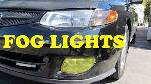 Saab 9 3 Fog Light Bulb Replacement How To Replace Fog Lights Toyota