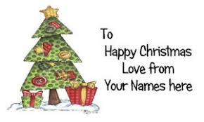 Christmas Tree Labels Details About 21 X Personalised Labels Stickers Gift Tags Presents