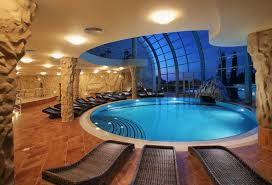 In Autumn/Winter you can always try the indoor pools, it's not only