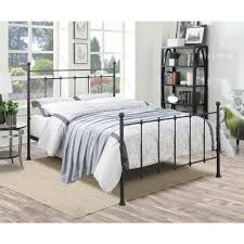 PRI All-in-1 Black Queen Bed Frame-DS-2644-290 - The Home Depot