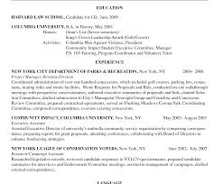 Harvard Resume Harvard Law Cover Letter Clerkship Oci University Resume School 46