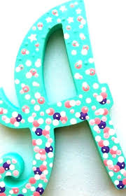 ideas for decorating wooden letters watercolor wood from pertaining throughout 9