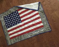 American flag quilt | Etsy & American flag quilt Adamdwight.com