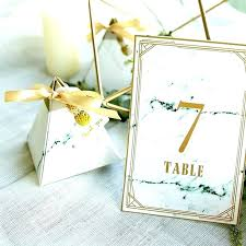 Place Card Holder Template Table Numbers And Place Cards Evebox