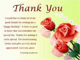 Beautiful Thank You Quotes For Birthday Wishes Best of Thank You Quotes For Birthday Wishes Beautiful 24 Beautiful Thank