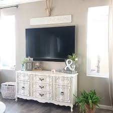 how to decorate tv stand bedroom awesome best 25 dresser tv stand ideas on furniture