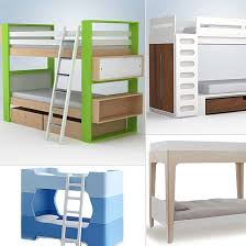 modern kids furniture bunk beds photo - 4